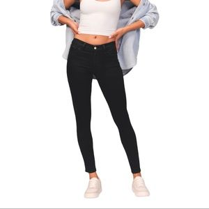 Abercrombie and Fitch Mid Rise Super Skinny Jeans